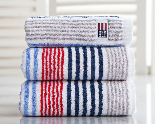 Original Striped Hand Towel Red/White/Blue