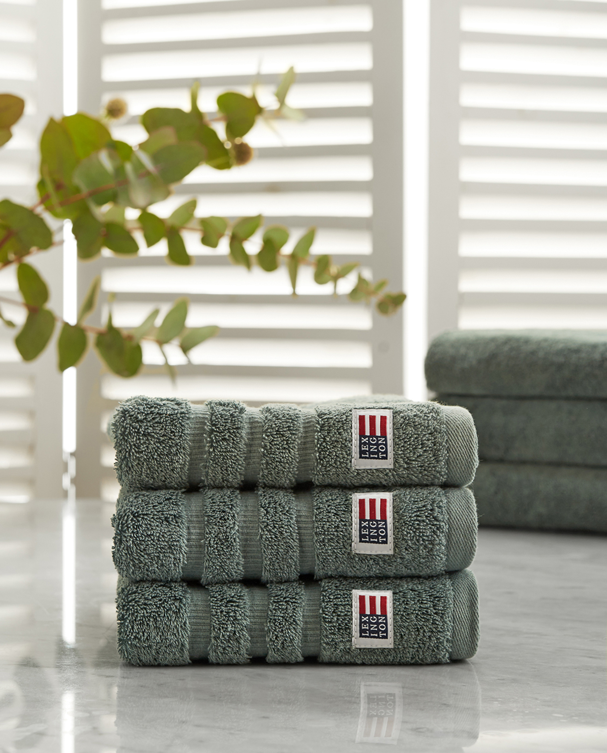 Icons Original Hand Towel Balsam Green