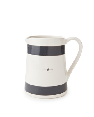 Earthenware Pitcher, Gray