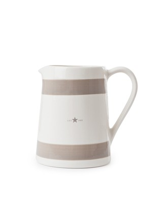 Earthenware Pitcher, Beige