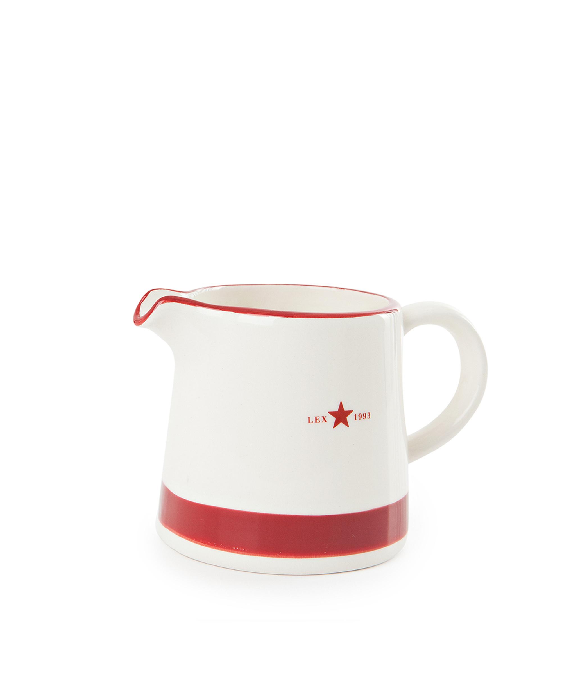 Earthenware Creamer, Red