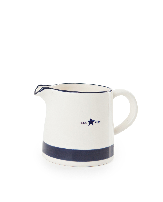 Earthenware Creamer, Blue