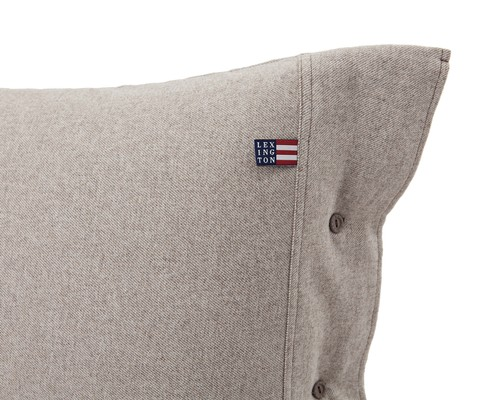 Chambray Flannel Pillowcase