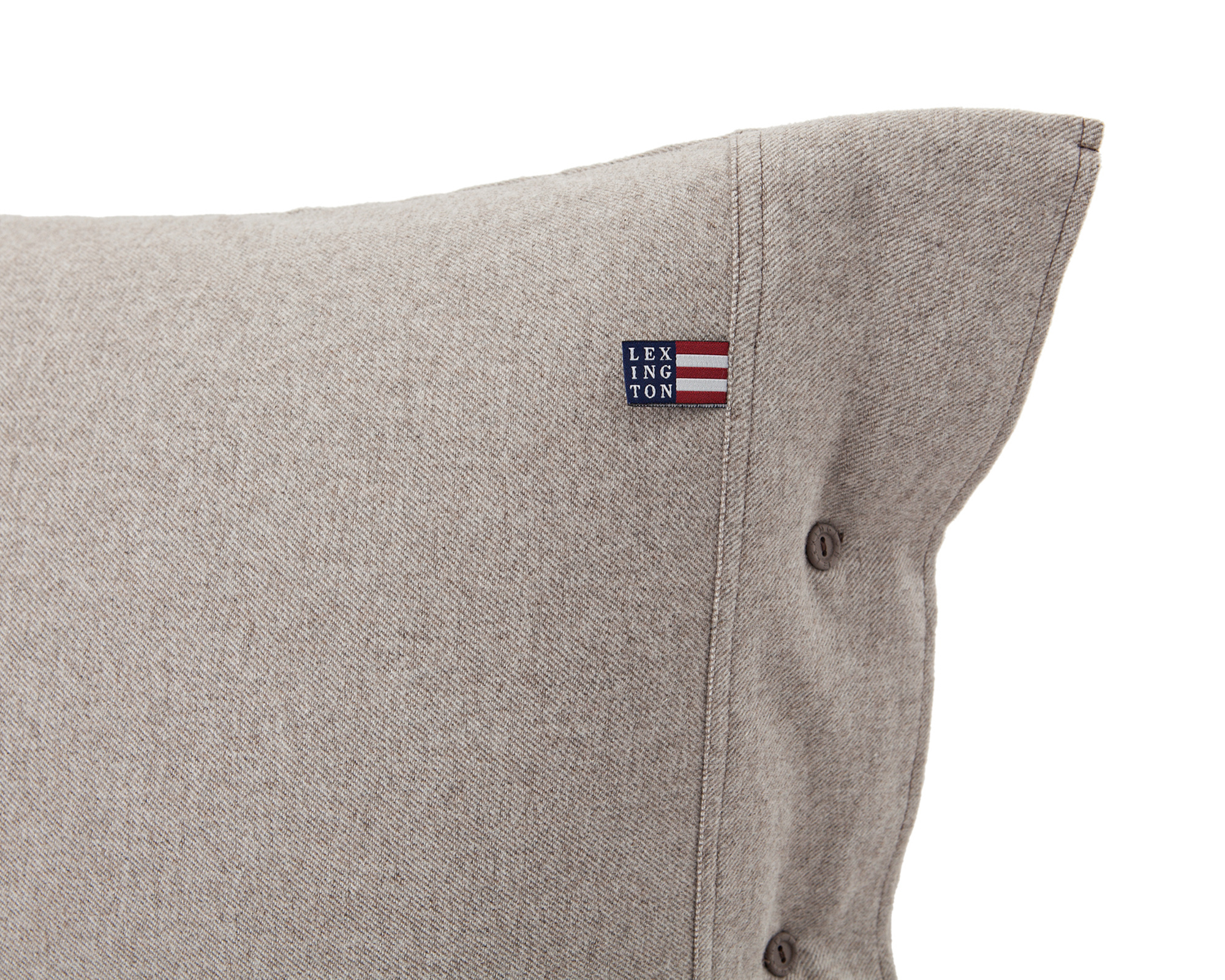 Icons Chambray Flannel Pillowcase