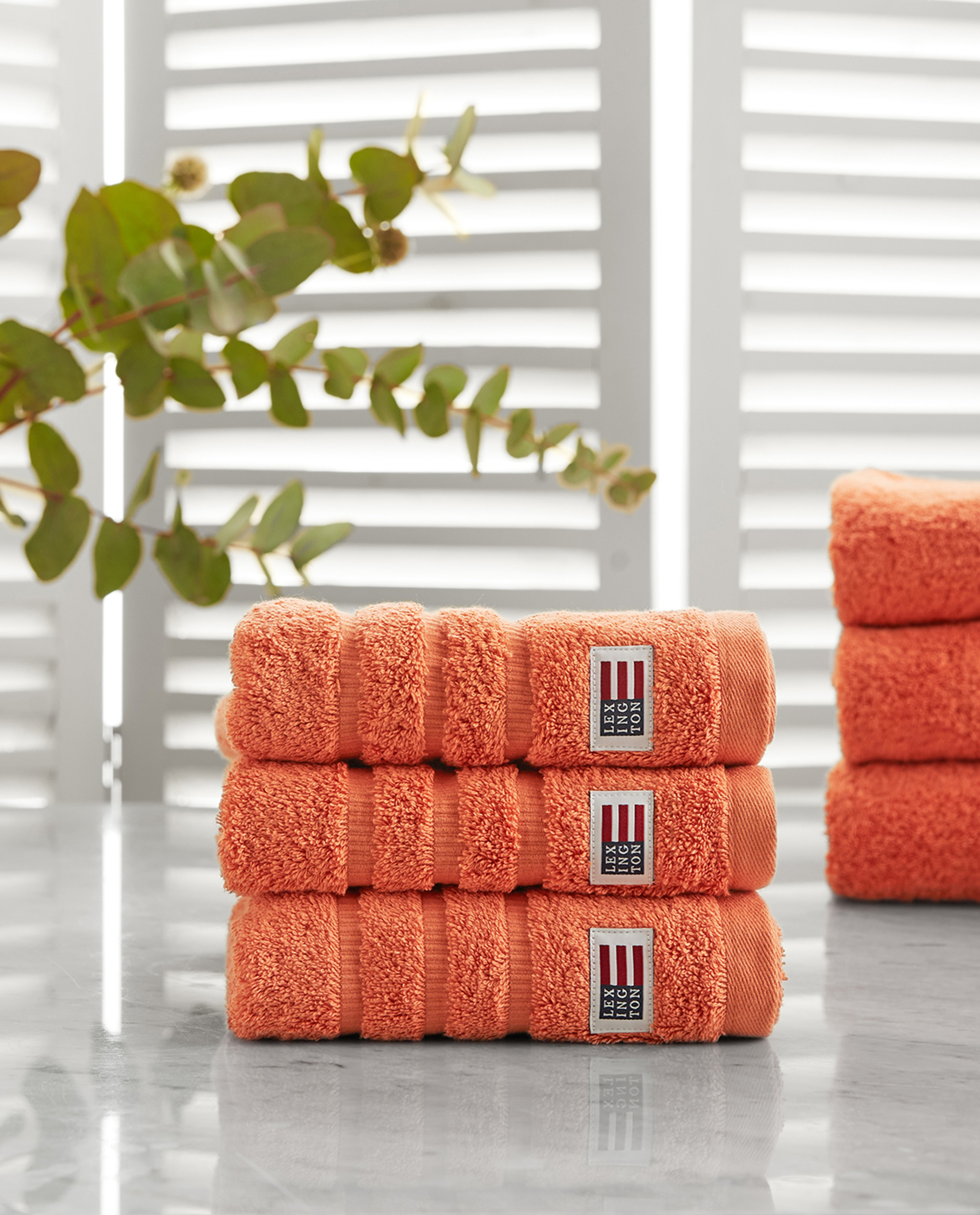 Icons Original Hand Towel Soft Orange