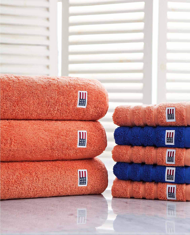 Icons Original Bath Towel Soft Orange