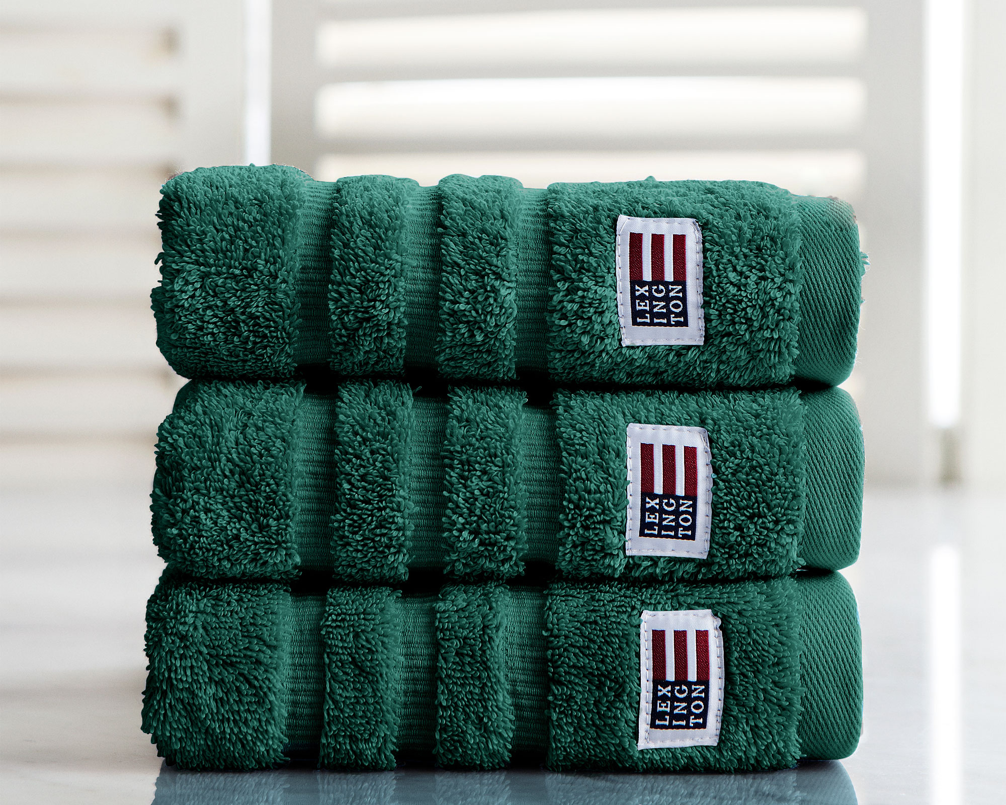 Original Hand Towel Racing Green
