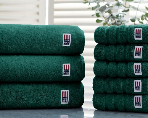 Icons Original Bath Towel Racing Green