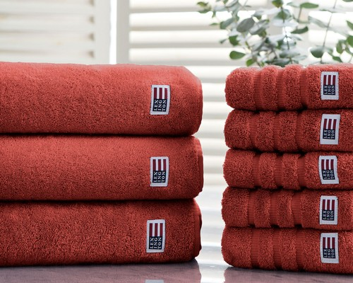 Original Bath Towel Etruscan Red