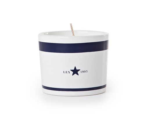 Icons Ceramic Scented Candle, Blue