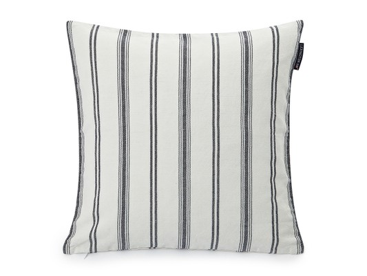 Classic Striped Sham, White/Blue