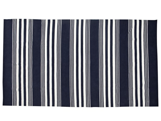 Striped Cotton Rug, Large