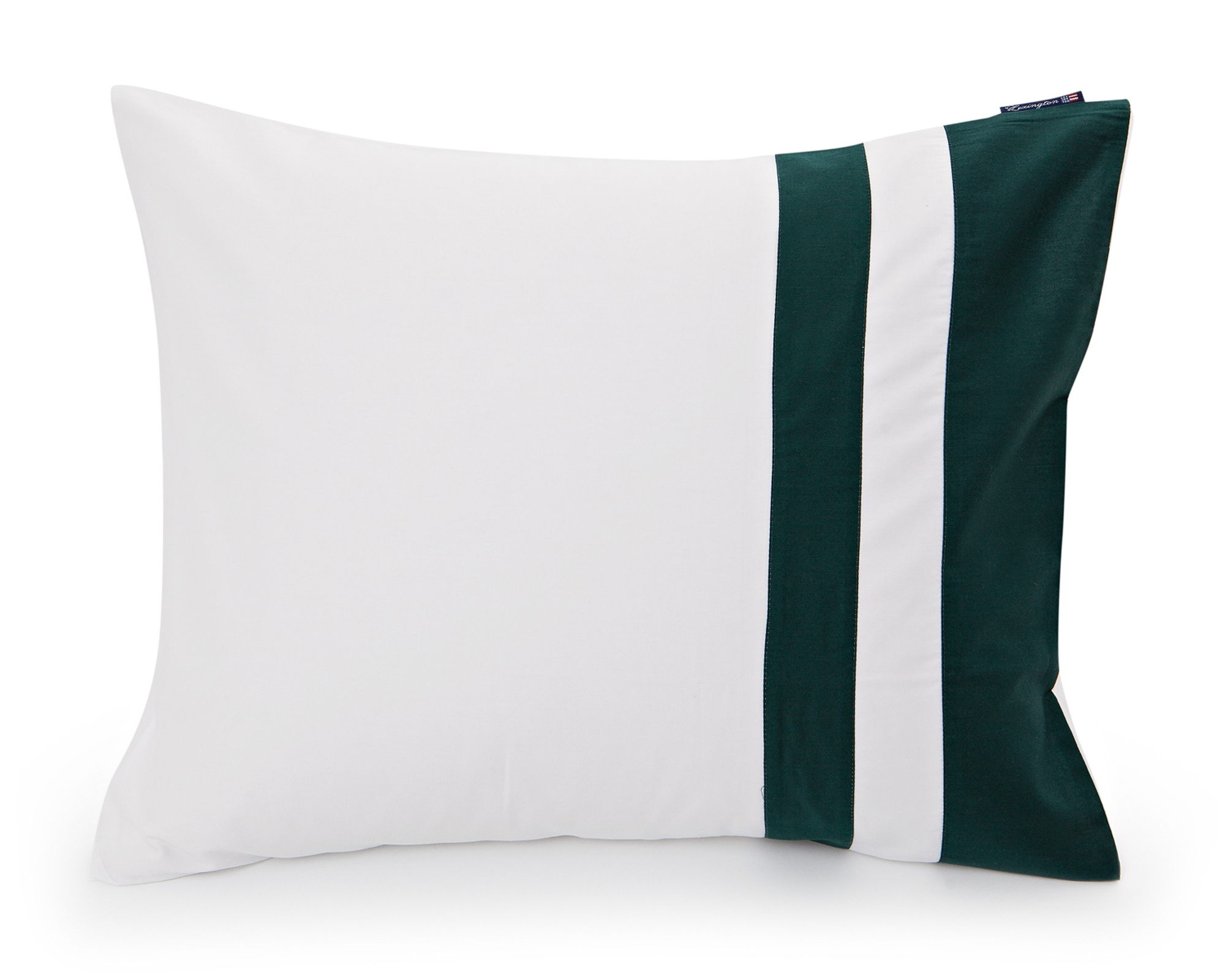 Green Border Sateen Pillowcase