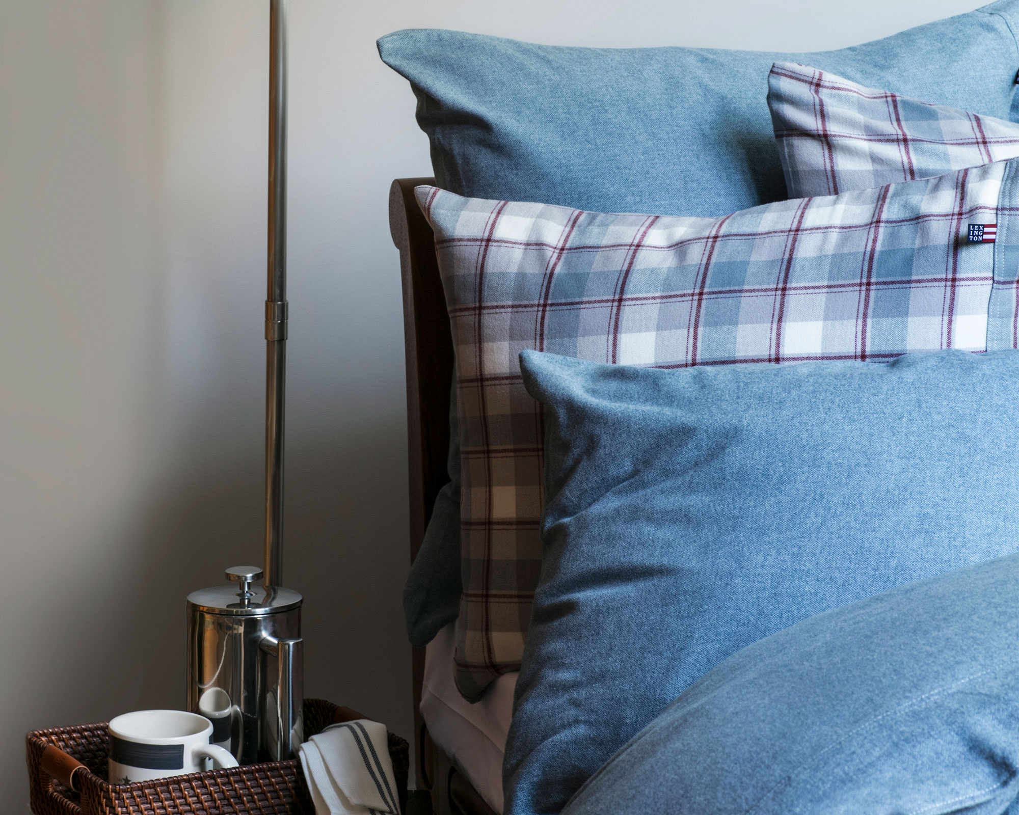 Herringbone Flannel Pillowcase