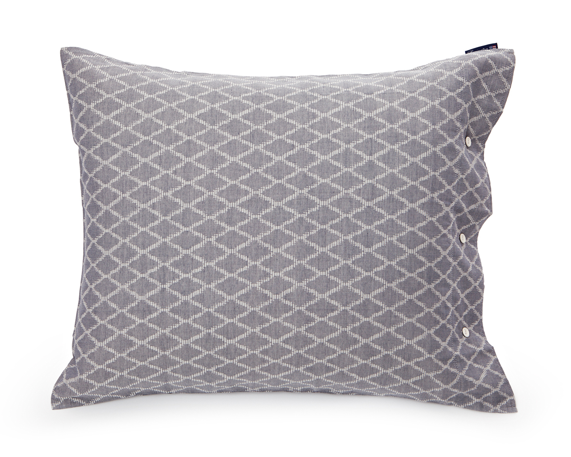 Blue Jacquard Pillowcase