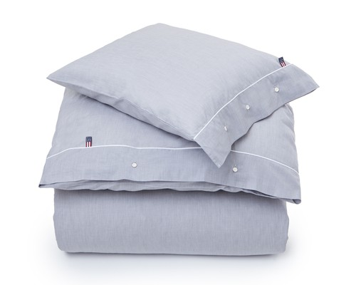 Gray Chambray Duvet