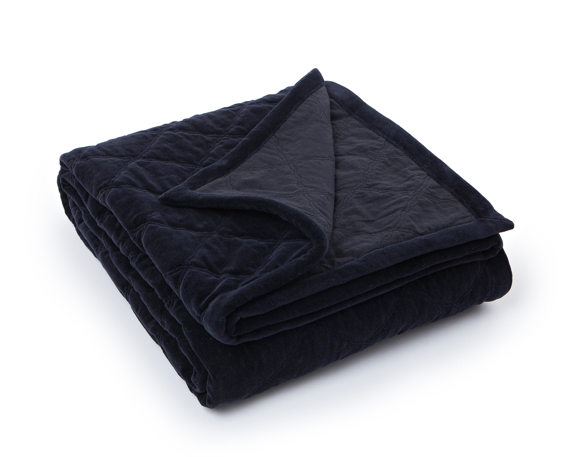 Icons Quilt Velvet Bedspread