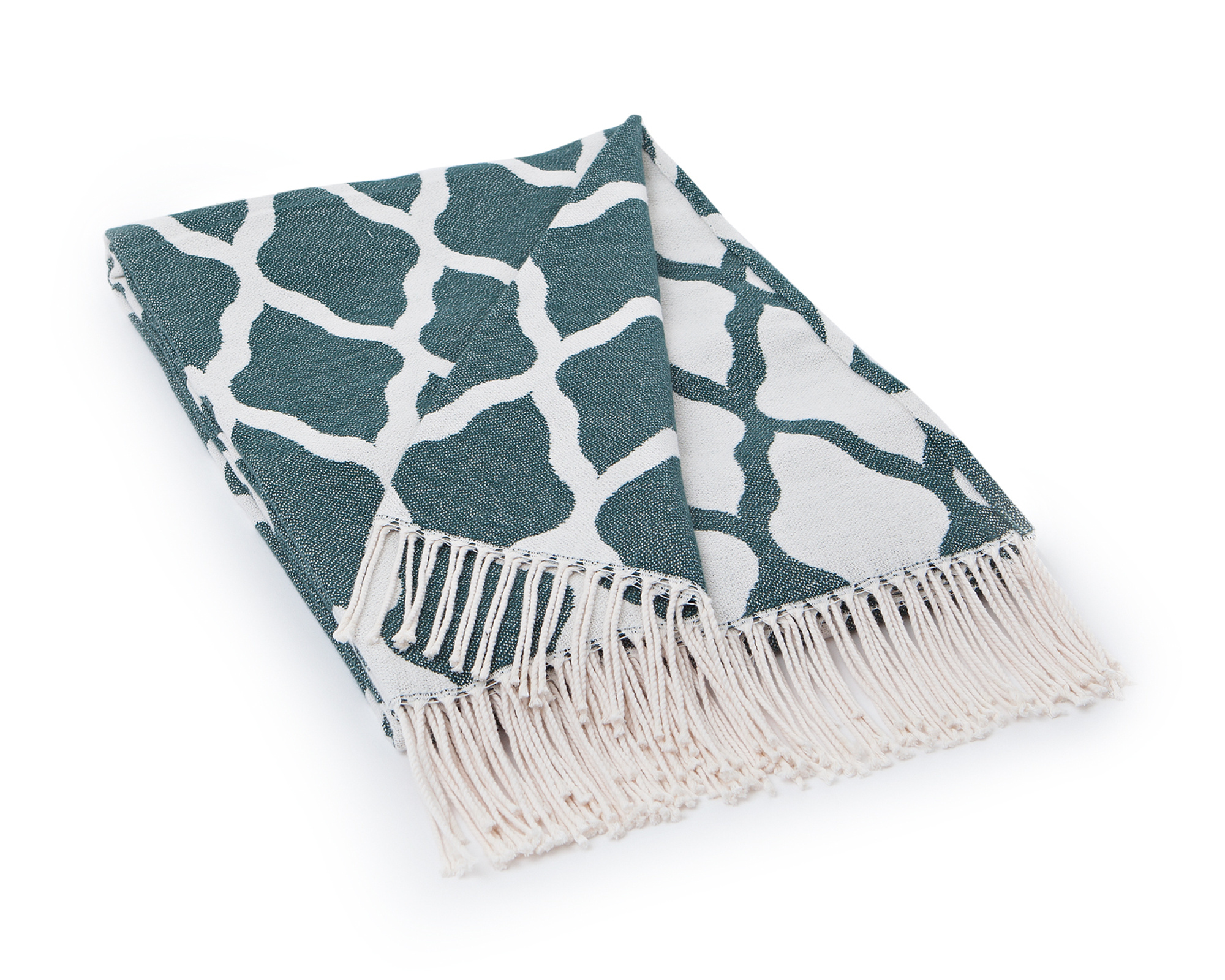 Jacquard Cotton Throw