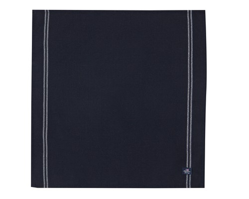Structured Napkin, Black/White