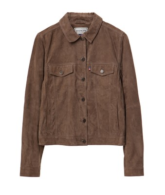 Marcie Suede Jacket, Hunter Green