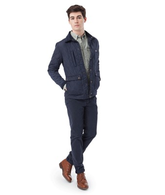 Hunter Quilted Jacket, Blue