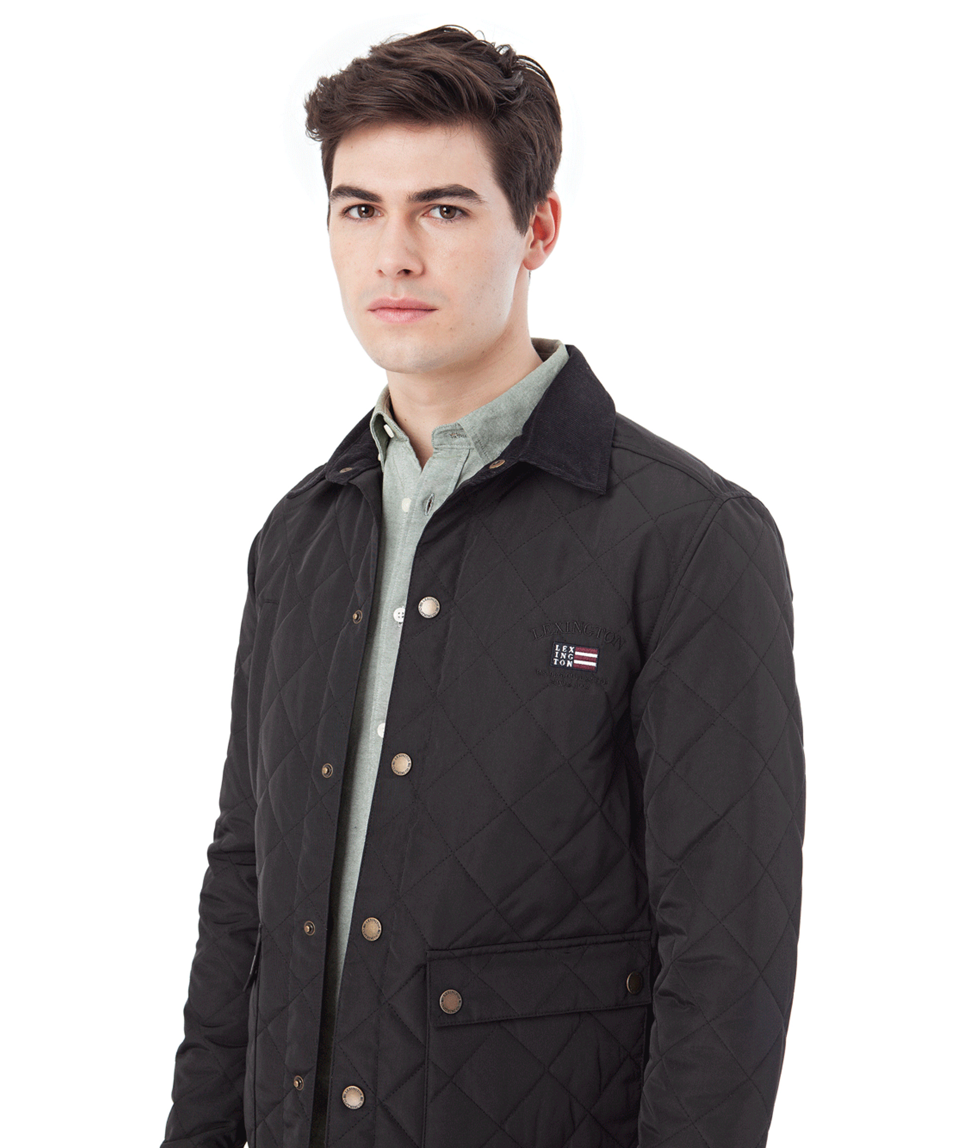 Hunter Quilted Jacket, Black