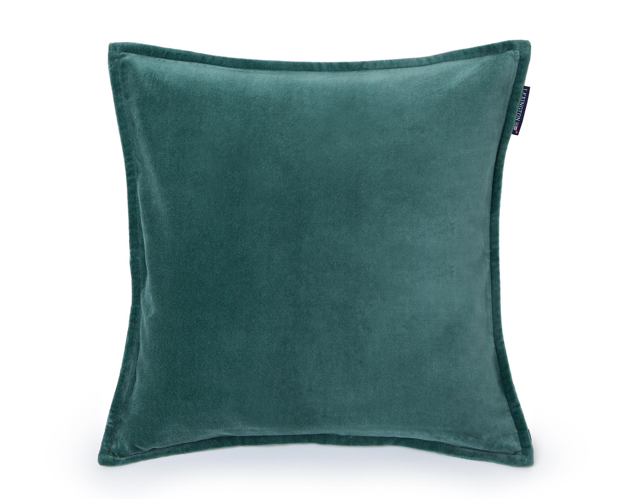 Velvet Sham Green