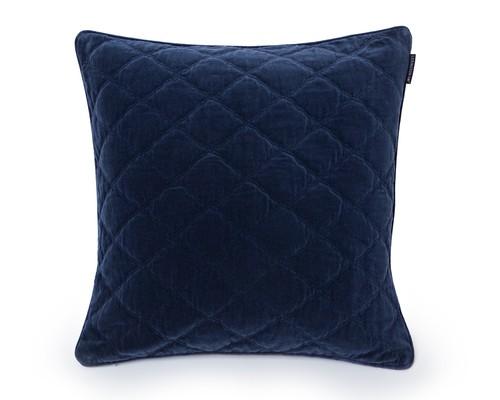 Velvet Quilt Sham 65x65, Blue