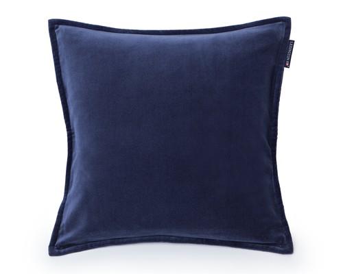 Velvet Sham Blue