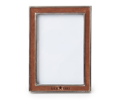 Leather & Metal Frame
