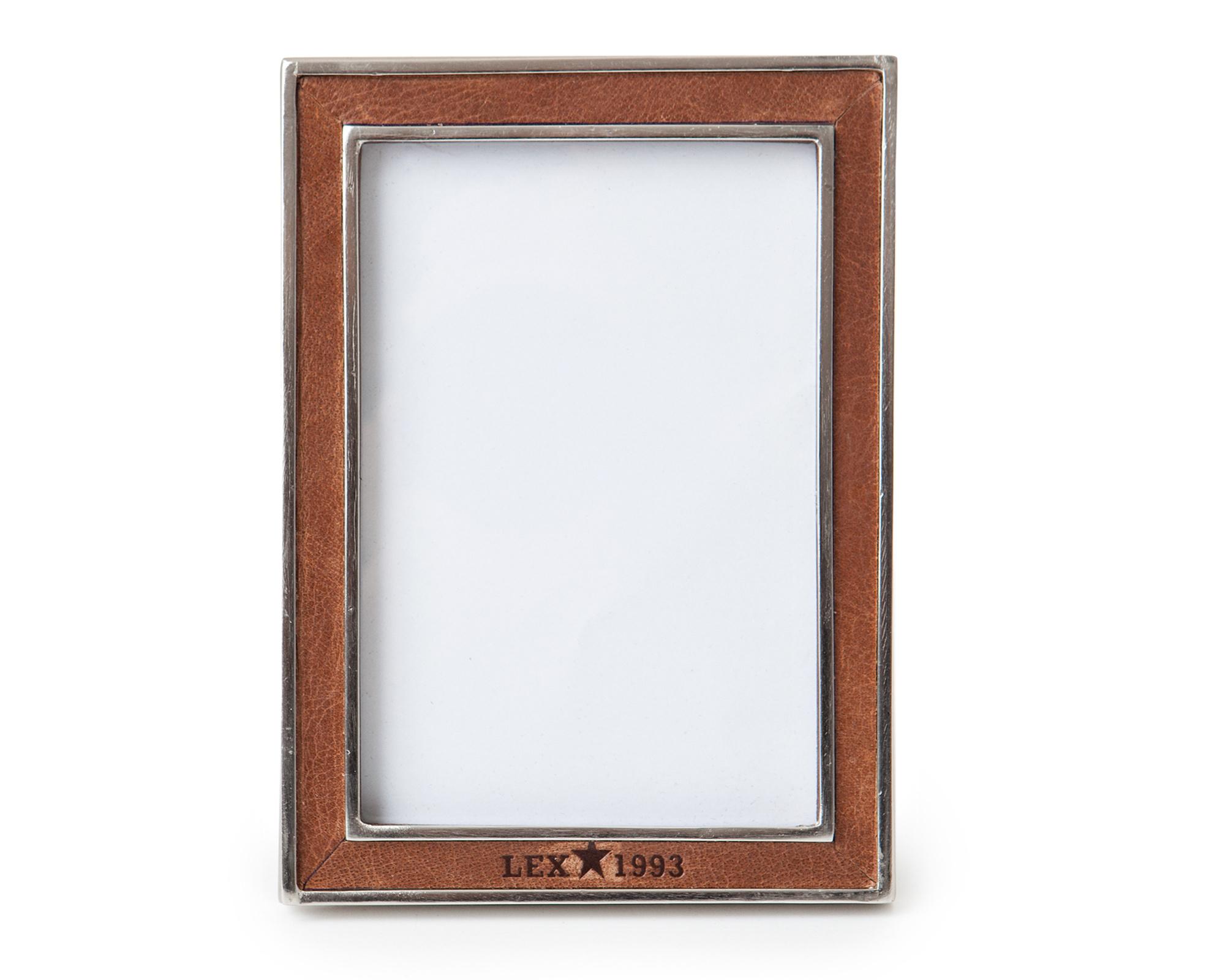 Leather & Metal Frame