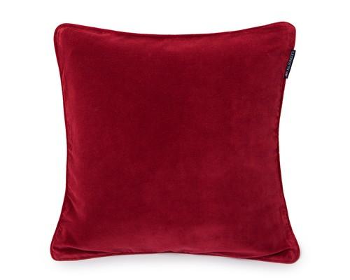 Velvet Sham, Red
