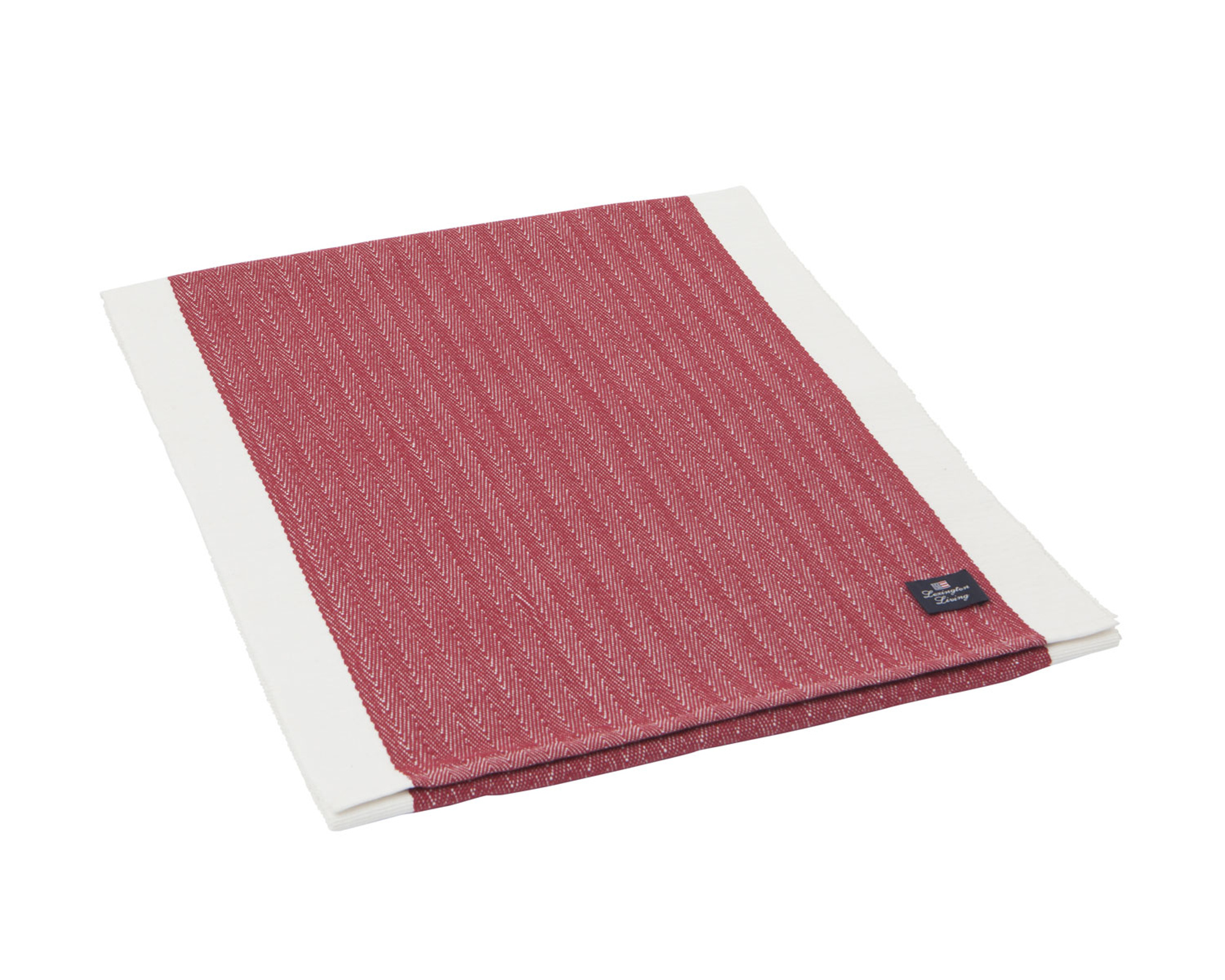 Structured Runner, Red/White