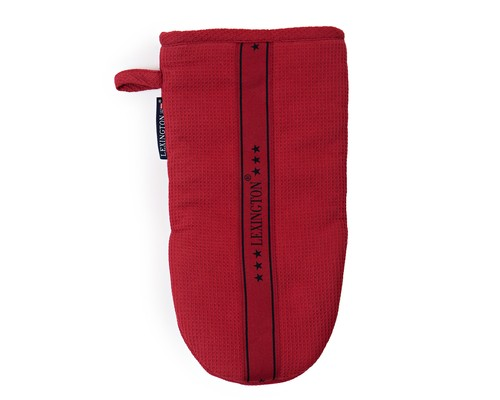 Waffle Mitten, Red
