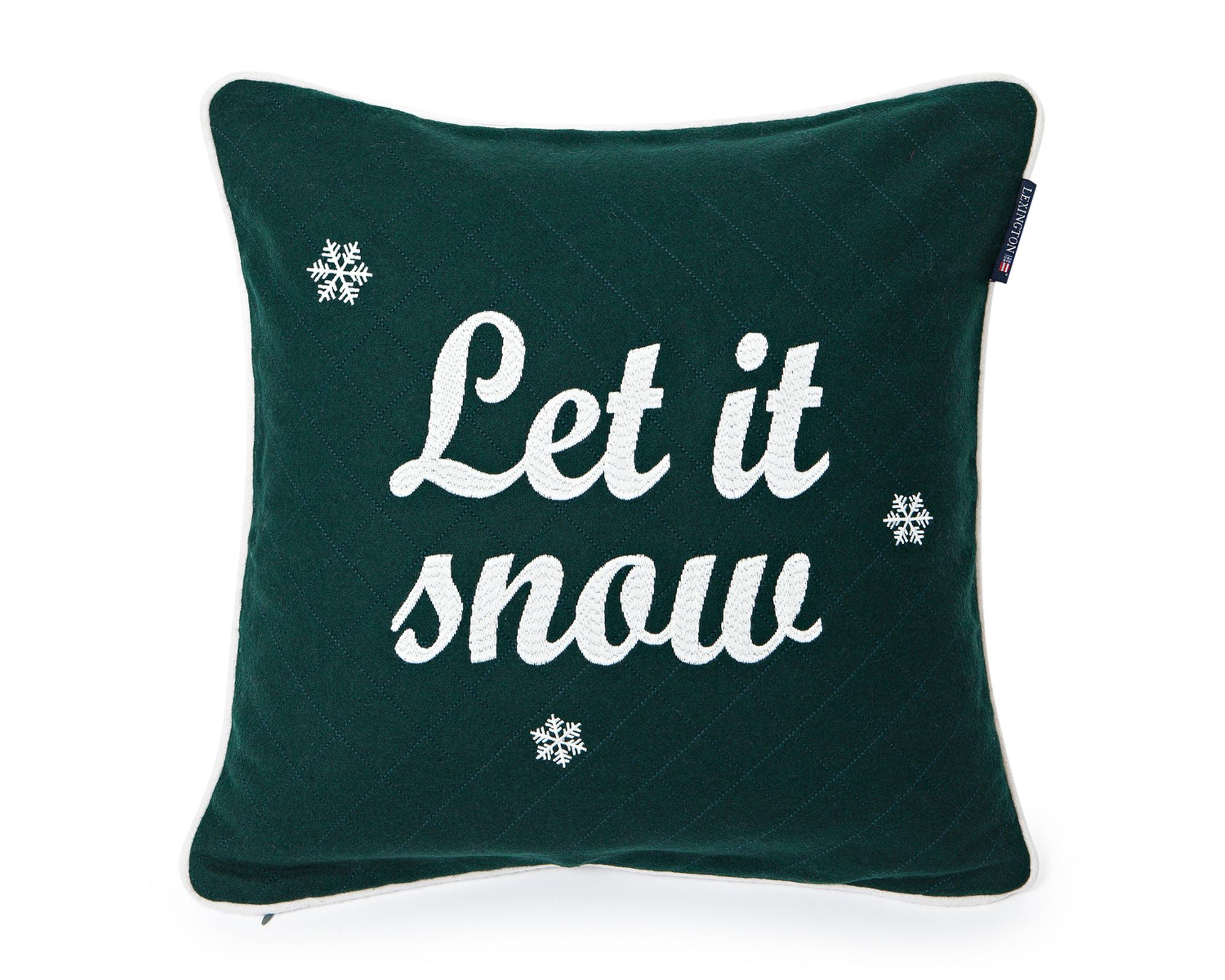 Let it snow Sham, Green