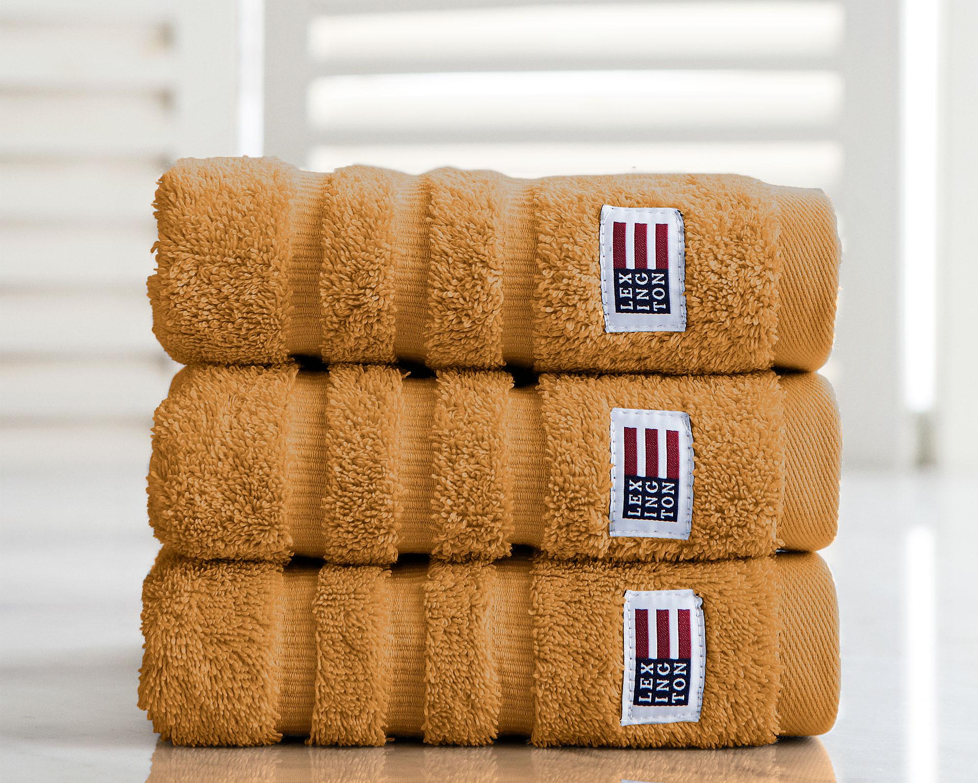 Original Hand Towel Amber