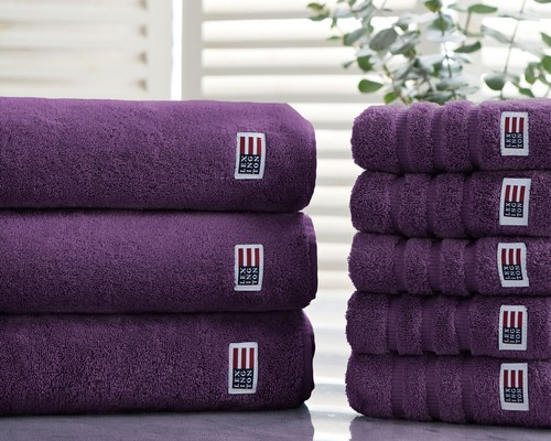 Original Bath Towel Aubergine