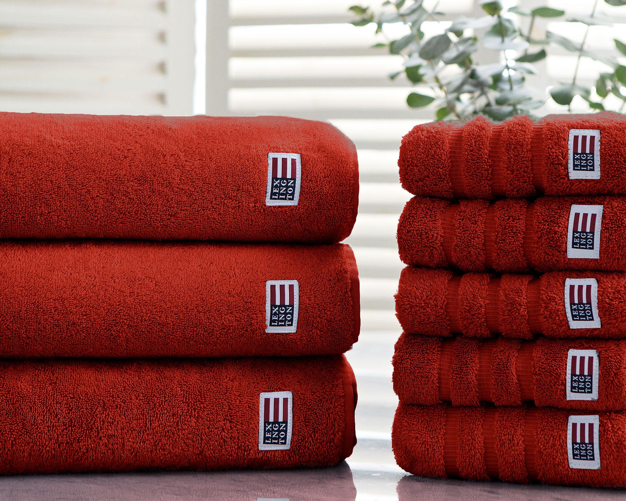 Original Bath Towel Tangerine