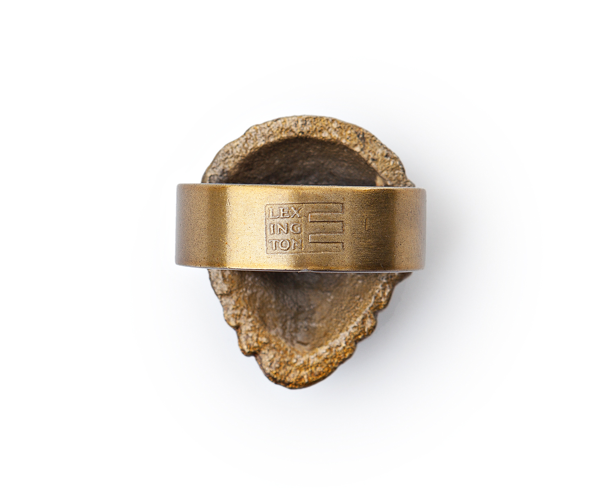 Pine Cone Napkin Ring, Brown
