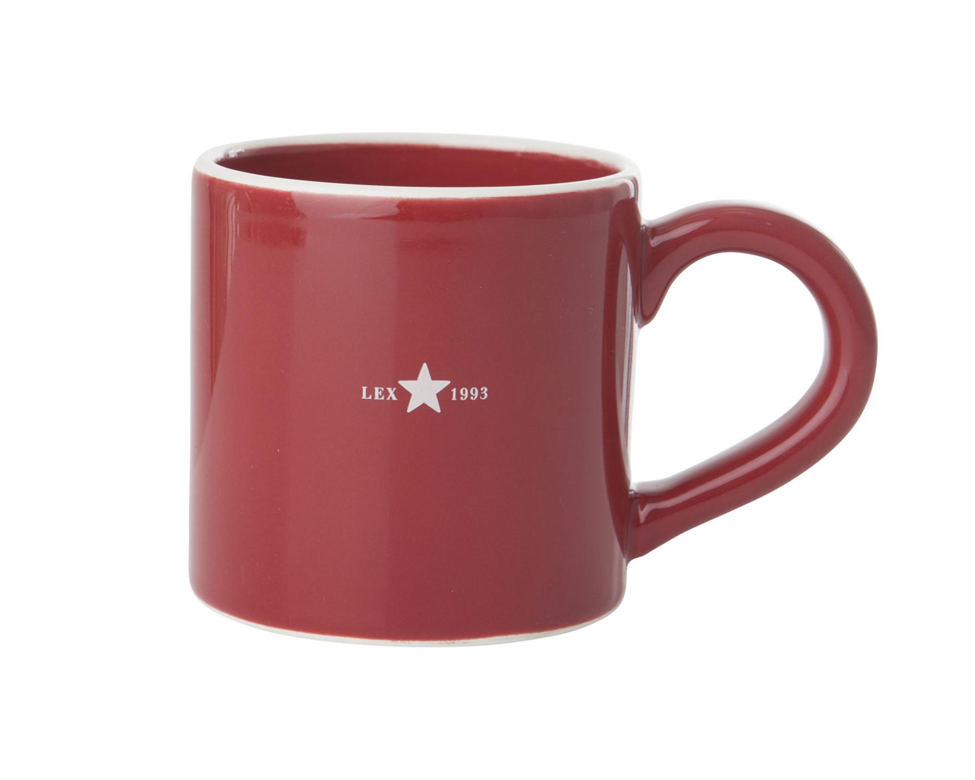 Holiday Mug, Red