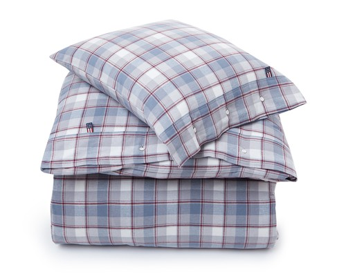 Check Flannel Flat Sheet
