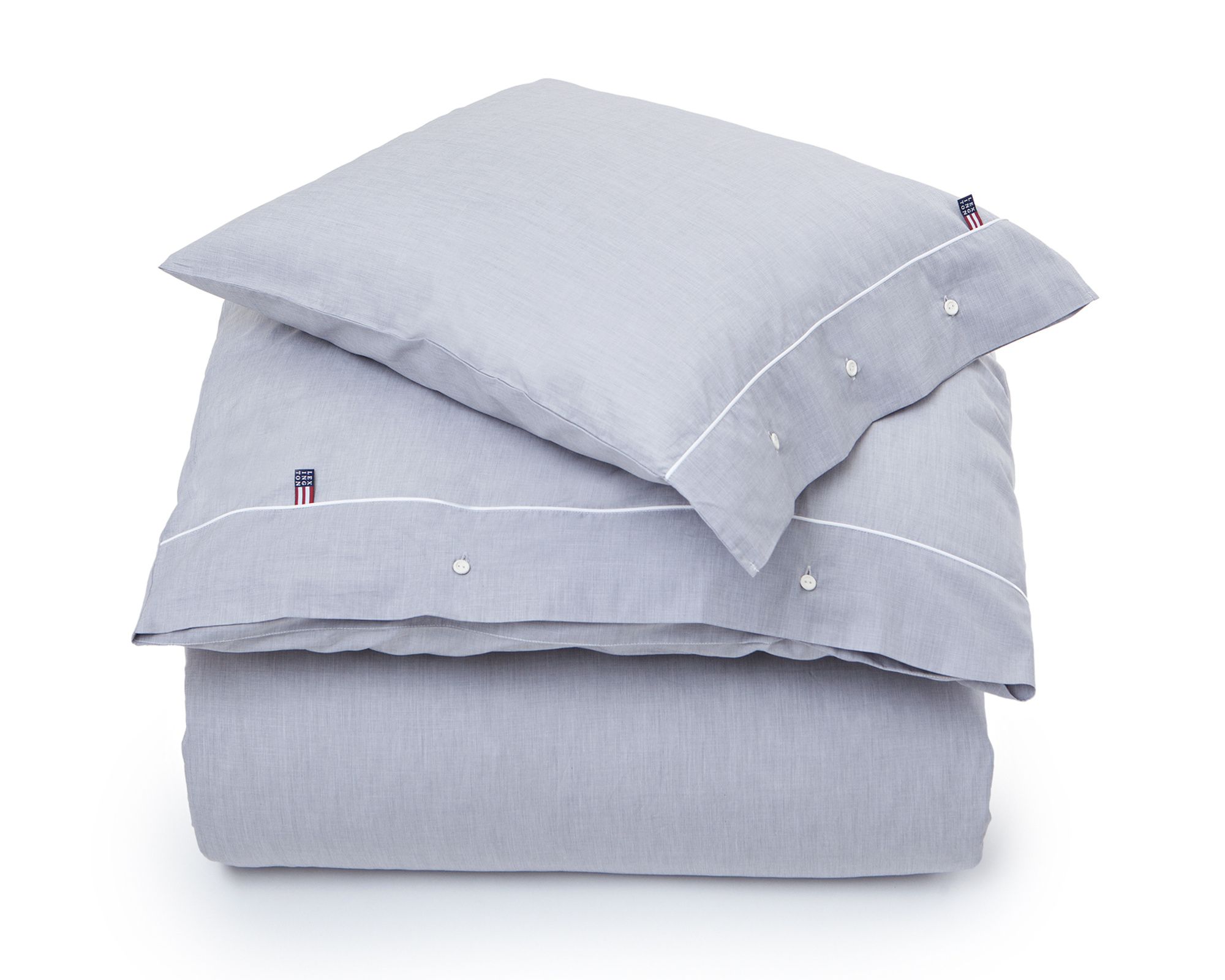 Gray Chambray Flat Sheet