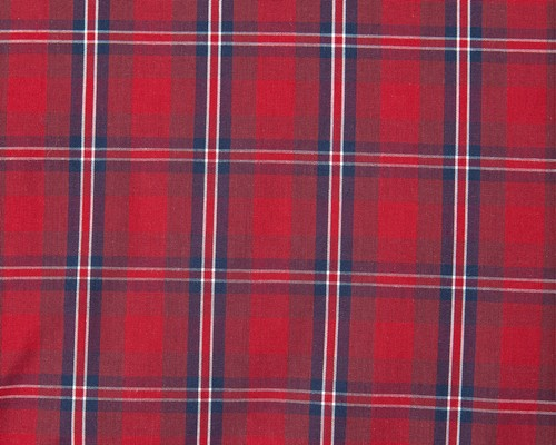 Checked Poplin Pillowcase