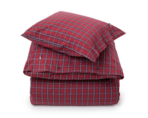 Checked Poplin Flat sheet