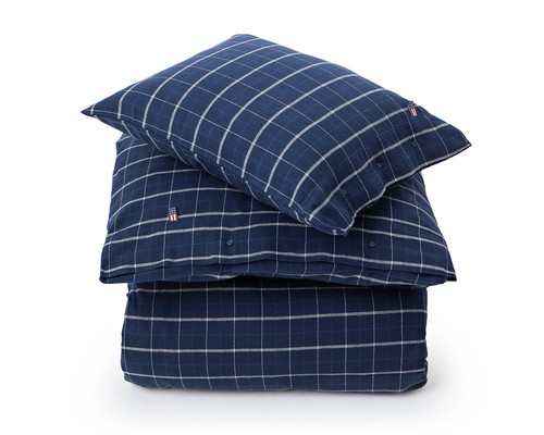 Checked Flannel Flat Sheet