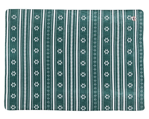 Holiday Fleece Throw, Green