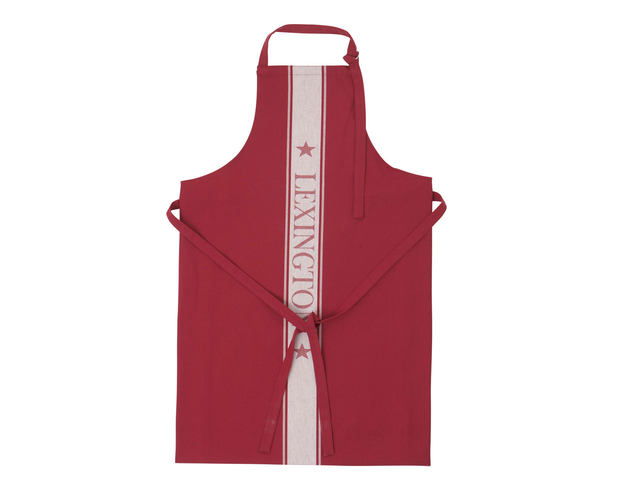 Apron High, Red/White
