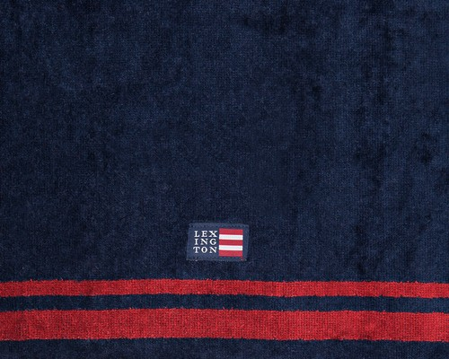 Merry Christmas Velour Towel, Red/Blue