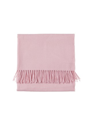 Aurora Wool Scarf, English Rose Pink