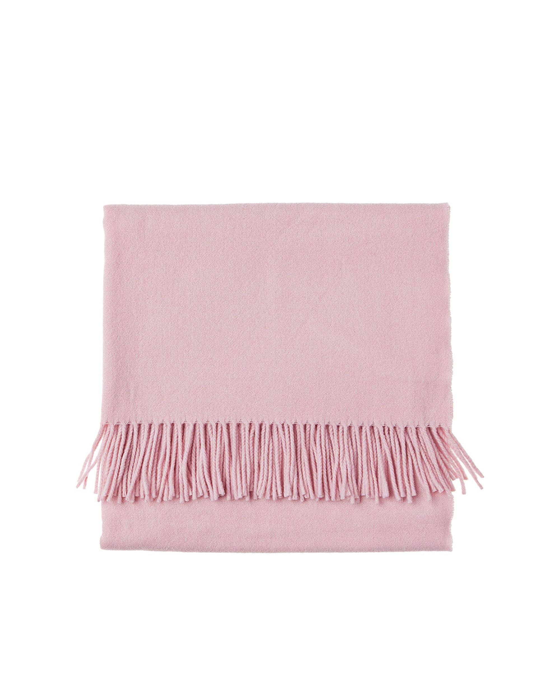 Aurora Wool Scarf, English Rose Pink